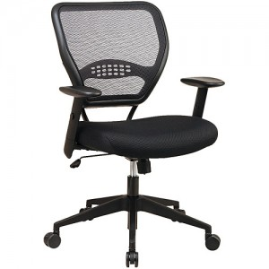 Office Star Black Swivel Chair 5500