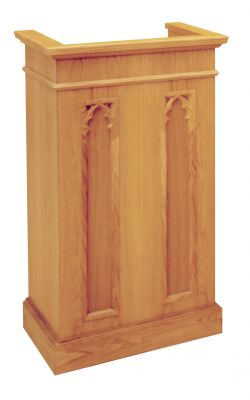 1220 Classic Style Lectern from Woerner