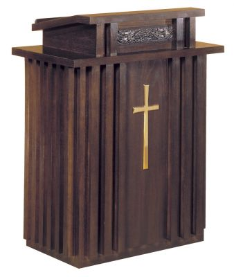 2050 Wood Pulpit from Woerner Industries