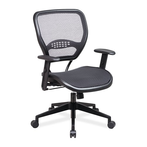 Office Star 5560 Leather Task Chair