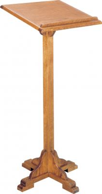 2955 Portable Wooden Lectern from Woerner