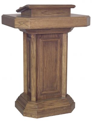 355 Pedestal Pulpit for Churches