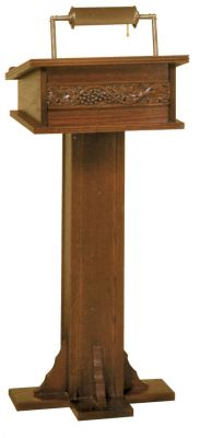 6020 Church Lectern from Woerner Industries
