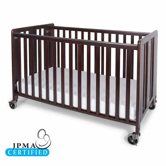 Hideaway Crib in Cherry Finish - 1021852