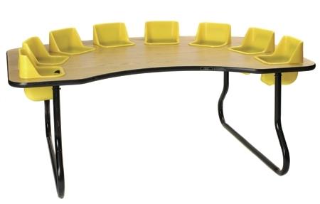 8 Seat Toddler Table