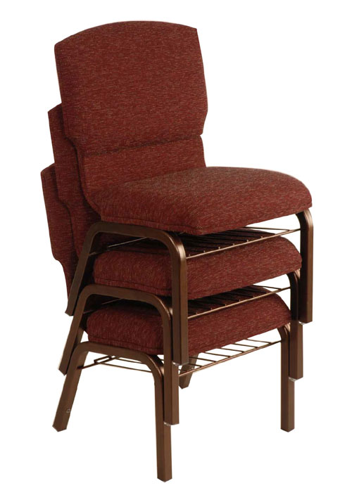 The Apex Stackable Church Worship Chair