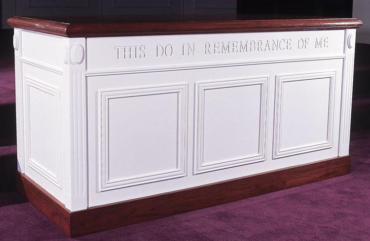 Closed Communion Table TCT-605