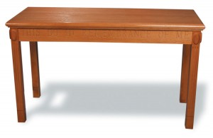 Open Communion Table from Imperial Woodworks