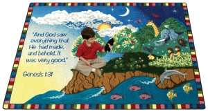 Creation - A Faith Based Rug from Joy Carpets