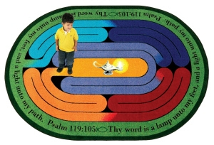 Joy Carpet's Pathway of Light Rug