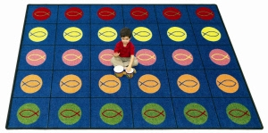 Circles & Symbols Carpet