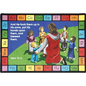 Quot Into His Arms Quot And Other Christian Themed Rugs Church