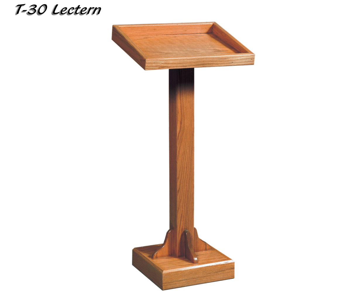Value Priced Wood Lectern Cheap T 30 From Imperial