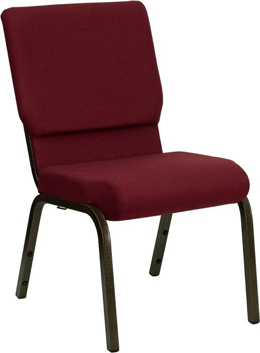 Hercules Burgundy Church Chair