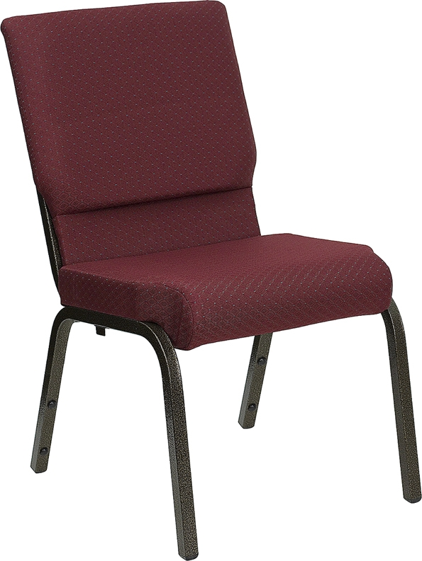 Hercules Burgundy Patterned Chair