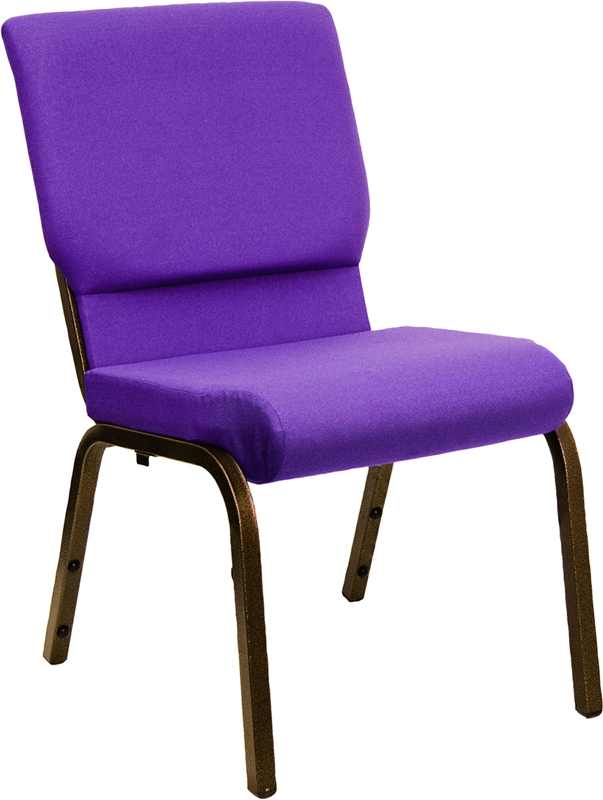 Hercules Purple Worship Chair