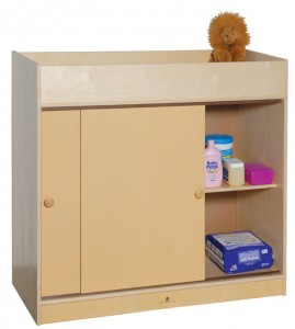 SWP1039P Changing Table for Churches