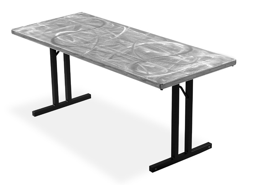 Large 30 Quot X96 Quot Linenless Folding Table From Southern