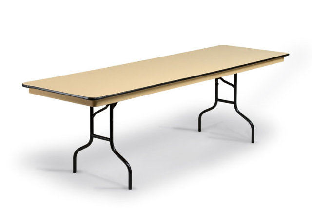 30 X 96 Abs Plastic Folding Table from Midwest Folding Products