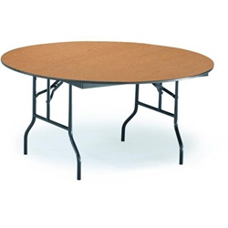 Church Folding Table with Plywood Core from Midwest