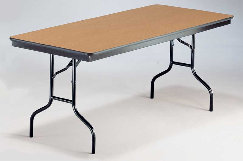 Midwest Folding Product 6 Folding Table 630ef Church