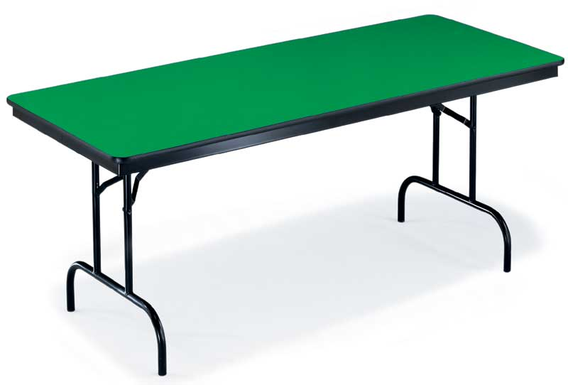 "72"" Rectangular Particleboard Folding Table"