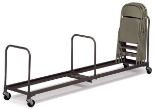 "CC72 - 76"" Long Chair Cart"