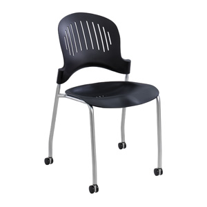 Zippi 3385BL Chair from Safco in Black