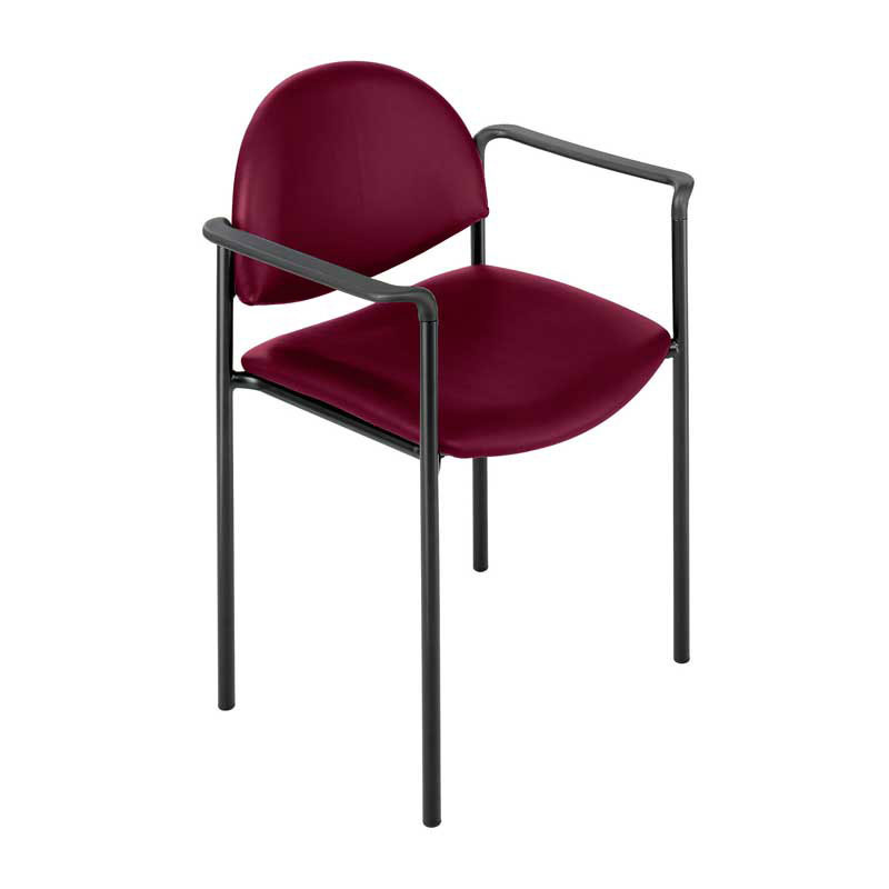Vinyl Stacking Chair for Churches from Safco (Wicket 7011)