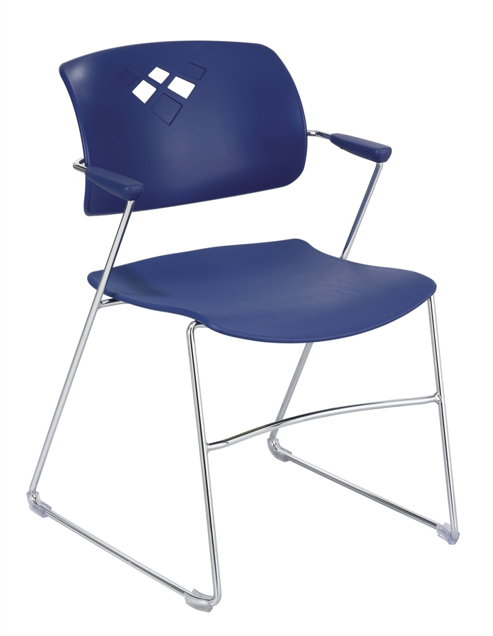Stackable Chair for Churches from Safeco