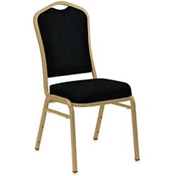 9300 Series Silhouette Vinyl Upholstered Stack Chair