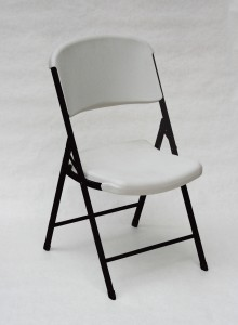 Correll RC-600 Folding Chair in Grey