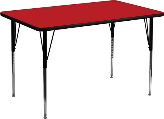 "30"" x 60"" Rectangle Activity Table"