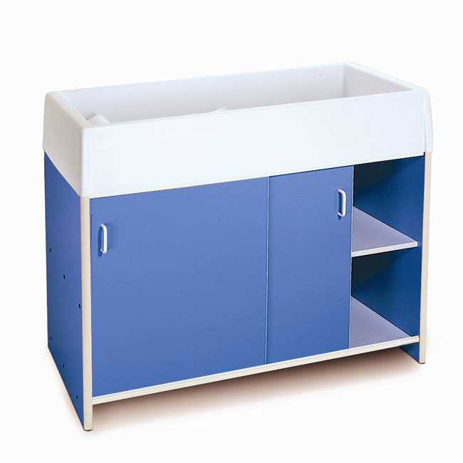 Church Nursery Changing Table from Whitney Brothers