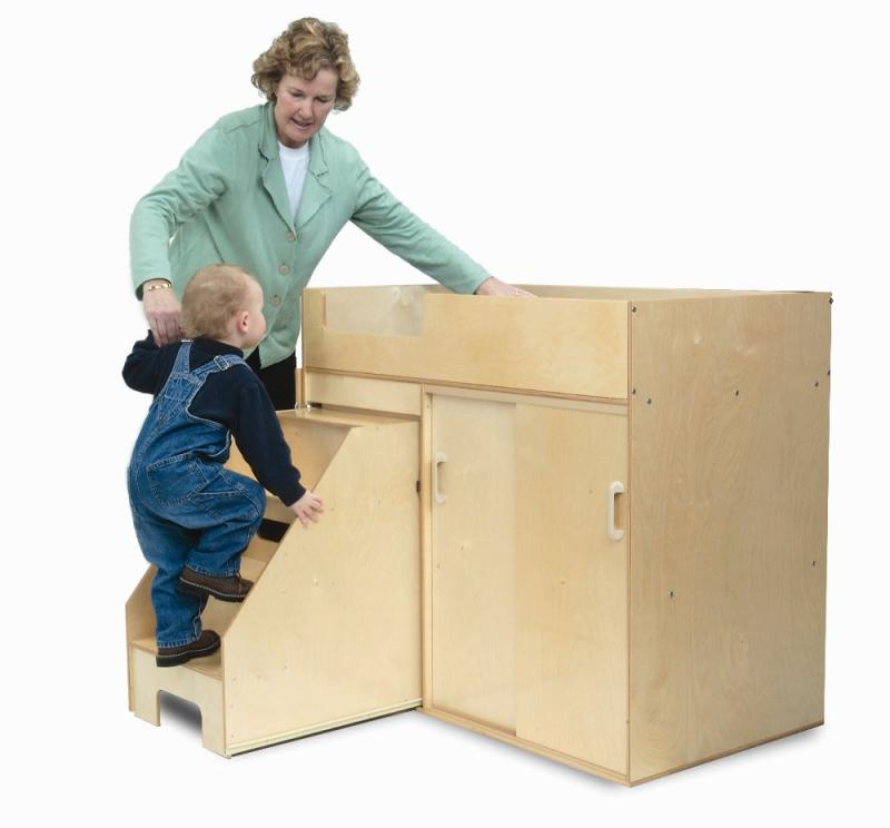 Step-Up Changing Table from Whitney Brothers