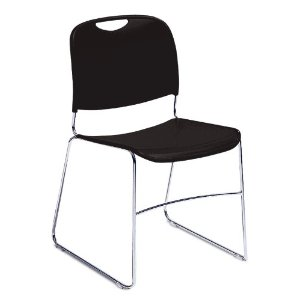 NPS 8510 Church Chair in Black