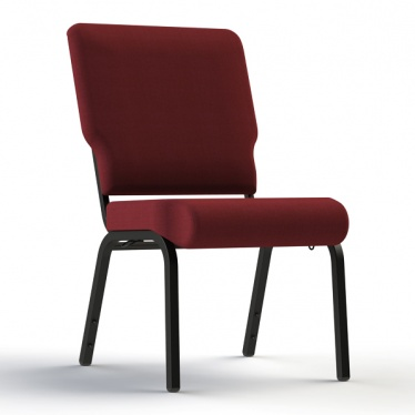 Maroon Church Chair from Comfortek