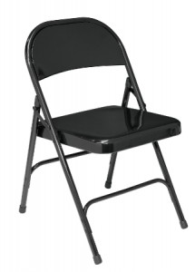 National Public Seating Model 50 510 Steel Folding Chair