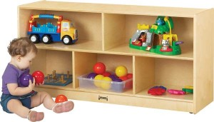 Toddler Single Mobile Storage Unit from JontiCraft