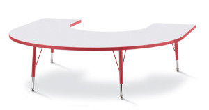 6445JC Horseshoe Table from Jonti-Craft