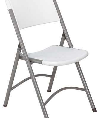 NPS 600 Series Folding Chair in Speckled Grey