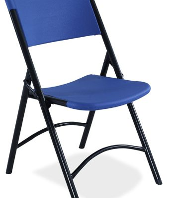 NPS 604 Blue Lightweight Folding Chair