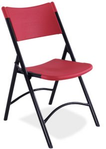 NPS 640 Red Folding Chair