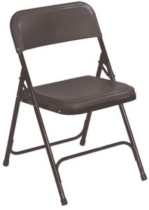 National Public Seating 810 Plastic Folding Chair