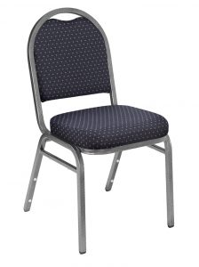 National Public Seating 9264-SV Stack Chair