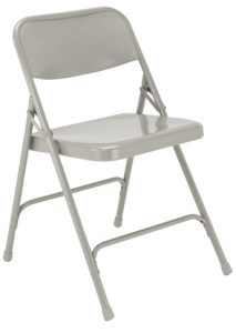 National Public Seating 202 Folding Chair