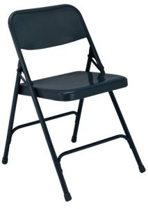 National Public Seating 204 Folding Chair