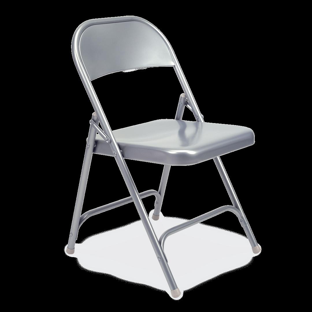 Silver Mist Virco Folding Chair 162