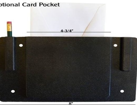 Church Chair Card Holder