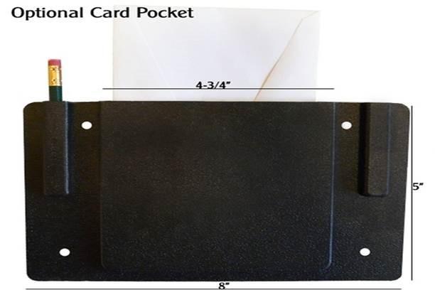 Church Chair Card Holder